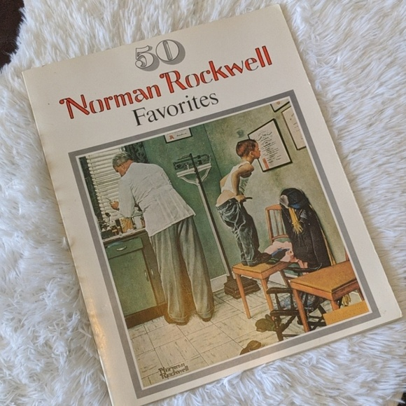 Norman Rockwell Other - 50 Norman Rockwell Favorites Tabletop Book